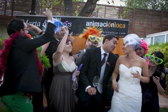fotocall en una boda