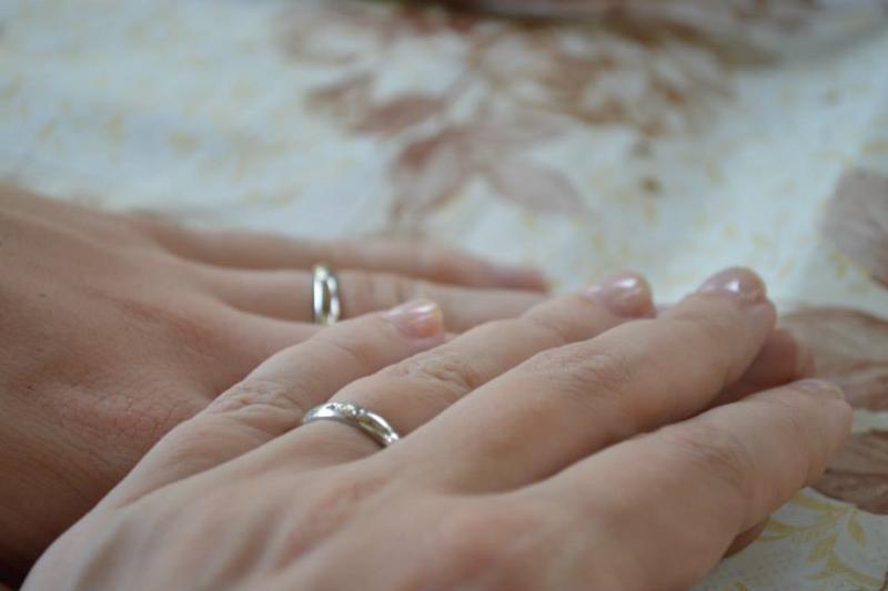 anillos en aniversario de boda