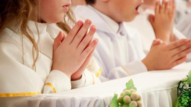 celebrar comunion niños