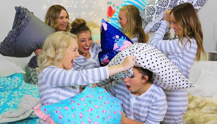 fiestas de pijamas divertidas
